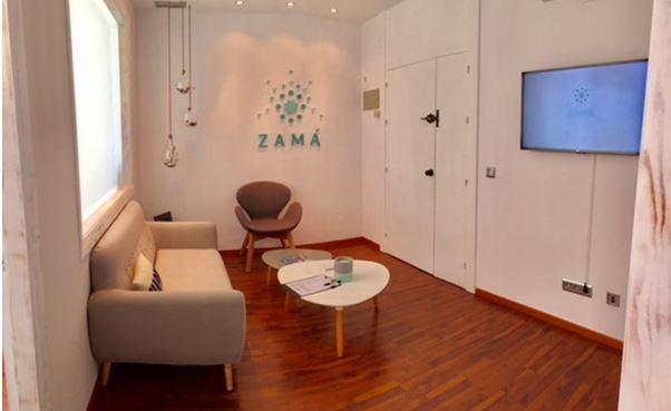 Zama Puerto Banus sala de espera